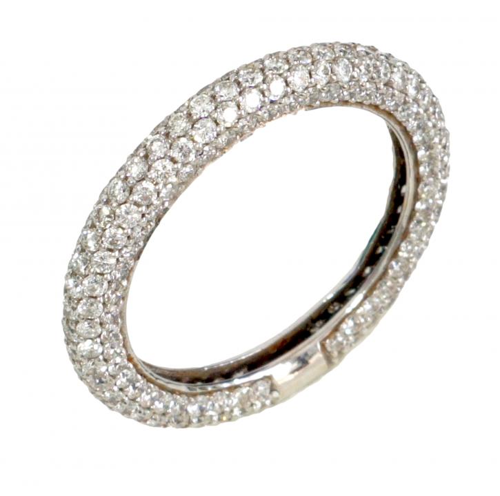טבעת פס יהולמים מדגם Alma