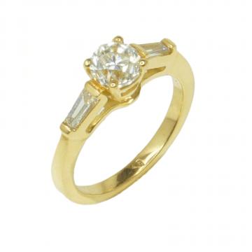 טבעת אירוסין קלאסית מדגם Bridge