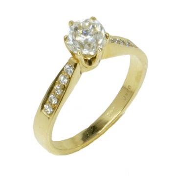 טבעת אירוסין קלאסית מדגם Esti