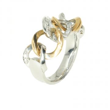 טבעת יהלומים מעוצבת מדגם Lismore