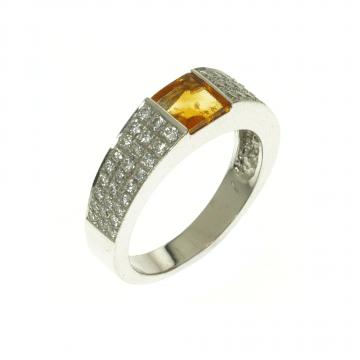 טבעת יהלומים מדגם Belt