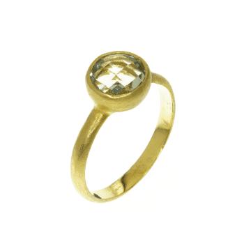 טבעת סיטרין מדגם Evergreen