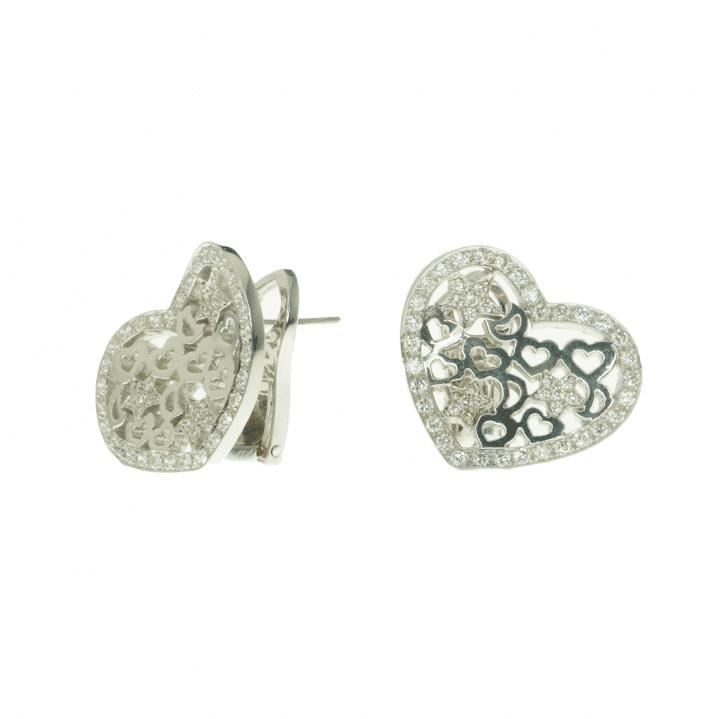 Vitrage earrings