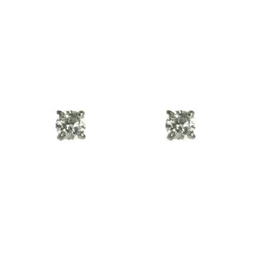 עגילים צמודים משובצים ביהלומים מדגם Dina_c