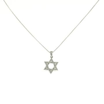 תליון מגן דוד יהלומים מדגם Tehila